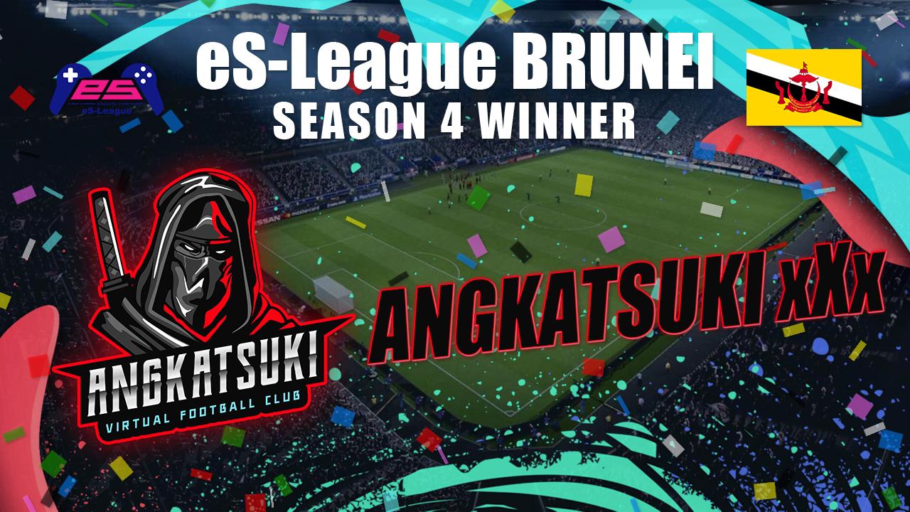 eS-League Brunei Season 4 Winner